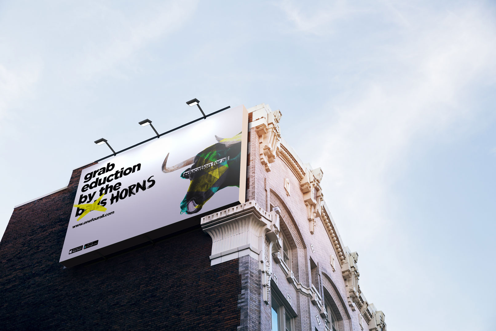 bull billboard - about us black tiger creative