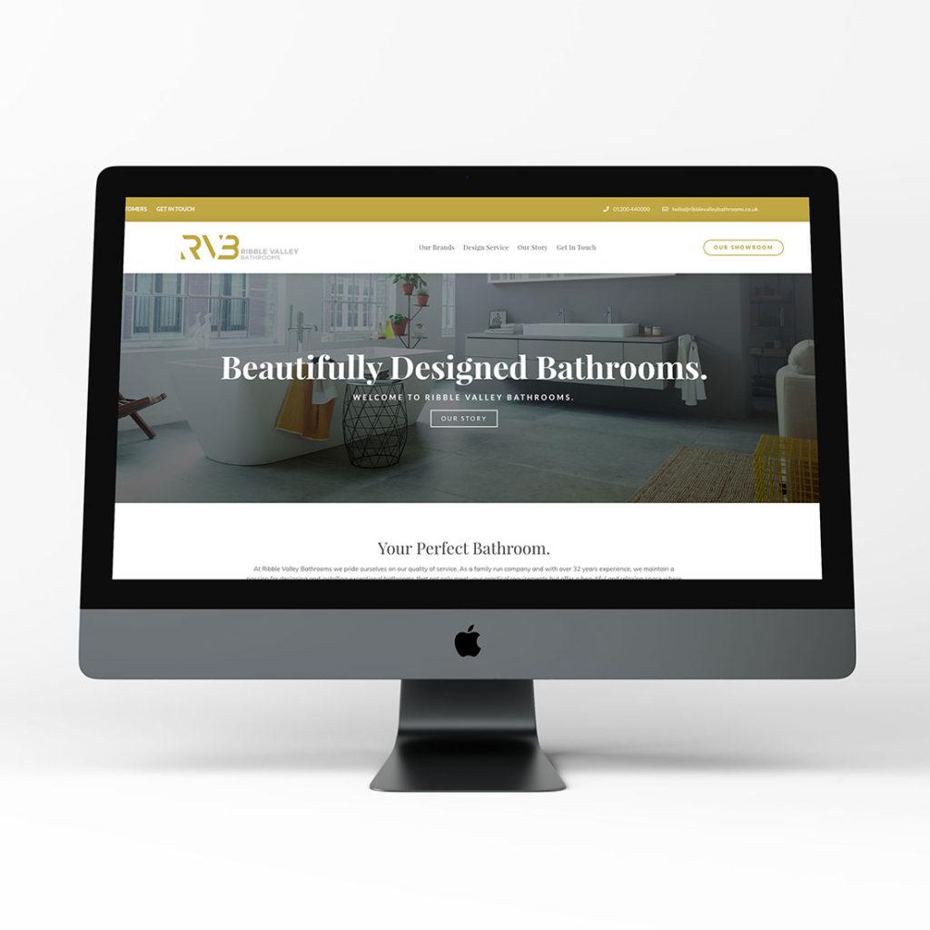 ribble valley bathrooms black tiger creative placeholder image of website mockup