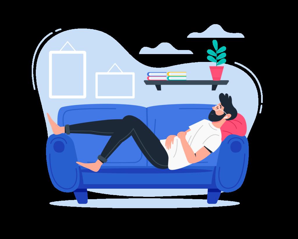 relaxing icon btc-ewh