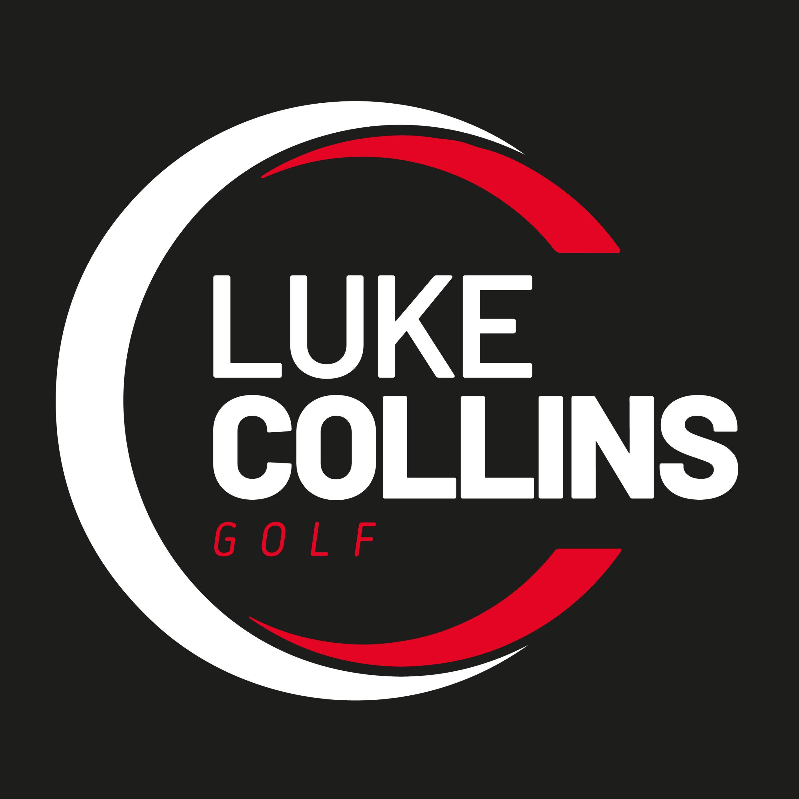 luke collins full size golf logo